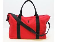 RALPH LAUREN PONY POLO DESIGNER DUFFLE/TRAVEL/WEEKEND/SPORTS/BAG