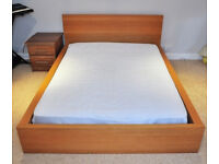 Sturdy double bed