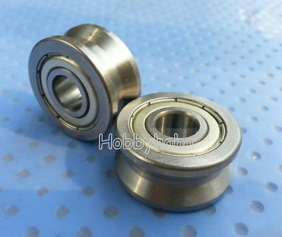 New 10pcs V Groove 103014mm Track Roller Guide Vgroove Sealed Ball Bearing