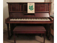 Well maintained upright Rogers piano and double stool need new home