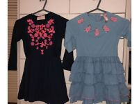 49 X GIRLS 3-4 YEARS + 4-5 YEARS JOBLOT 2 X MIM-PI DRESSES, PEPPA PIG,TINKERBELL