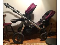 City Select Baby Jogger - 2 seats+1 bassinet+1 boogie board. Great buggy for 1-3 children.