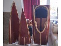 Wooden Sectional Kayak