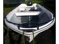 13ft fishing/open boat 15hp 4stroke outboard
