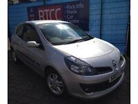 2007 (07 reg), Renault Clio 1.4 16v Dynamique Hatchback, 3 MONTHS AU WARRANTY, £1,995 ONO
