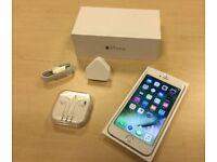 Silver Apple iPhone 6s Plus 128GB Factory Unlocked Mobile Phone + Warranty