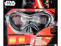 New Official Disney Star Wars Swim Mask Swimming Goggles Mask One Size Age 6+