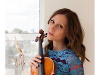 Professional violin teacher offers creative lessons