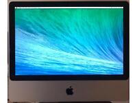 iMac 20-inch 2.0 GHz 3GB RAM 250GB HD