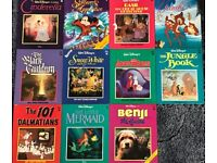 Eleven Classic Walt Disney Books/book - Packaging costs are free if posted