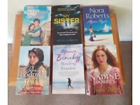6 x Paperback Books- Fiction-In good Condition