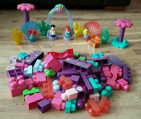 Disney's Little Mermaid Mega Bloks set