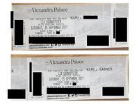 2x LCD SOUNDSYSTEM Alexandra Palace 23rd September.