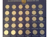 FA cup centenary coins complete in album