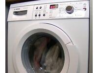(ex display) Bosch WAQ283S1GB Washing Machine, 8kg, A+++ Energy Rating, 1400rpm Spin, White