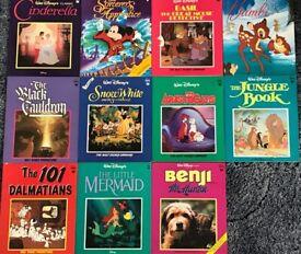 Eleven Classic Walt Disney Books/book – post or collect