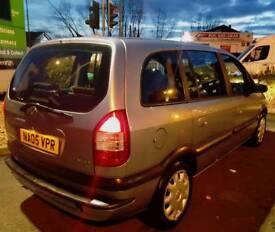 Vauxhall zafira 05reg hpi clear 80k tax tested 7seater