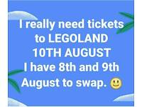 Legoland Ticket Swap