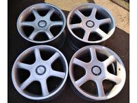 BMW R18 OZ Racing Staggered alloy wheels 8.5J&10J 5x120 ( BBS Speedline )