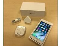 Silver Apple iPhone 6s Plus 128GB Factory Unlocked Mobile Phone + Warranty