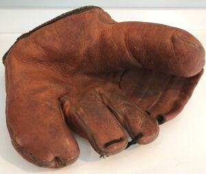 Antique 1930's Ken-Wel 4-Finger Baseball Glove