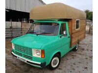 Vintage 1979 MK2 Transit Camper Food Wagon business glamping Campervan