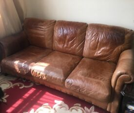 Leather sofa 3+2 set