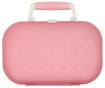 One Touch 60 CD Storage Carrying Brief Case, CDHPP-60, Pink, Brand New, LQQK
