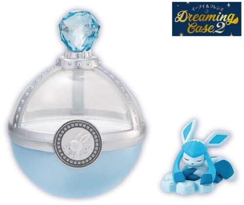 RE-MENT Pokemon Eevee & Friends Dreaming Case 2 Toy Figure Glaceon Sleeping NEW