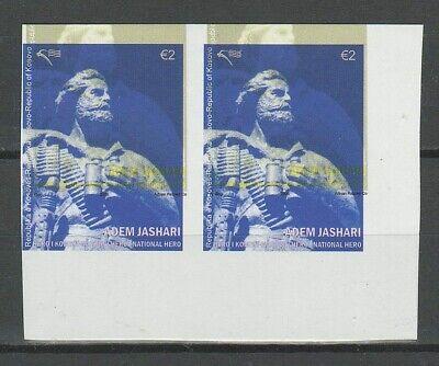 Kosovo 2008 ☀ Adem Jashari, imperforated proof - trial print ☀ MNH**