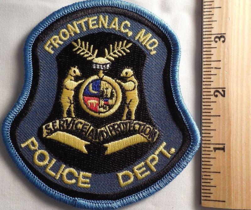 FRONTENAC MISSOURI POLICE PATCH (HIGHWAY PATROL, SHERIFF, EMS)