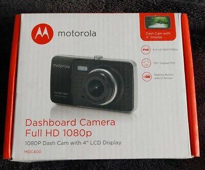MOTOROLA MDC400 Full HD 1080P Dash Cam 4 Inch LCD FREE P&P