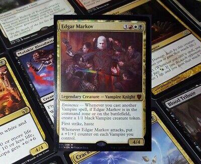 (MTG Commander EDH Deck Edgar Markov Vampires Tribal 100 Magic Cards Custom Deck)