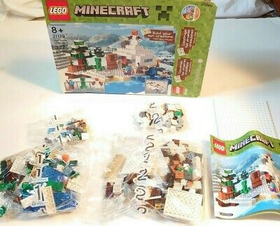 Lego 21120 Minecraft The Snow Hideout (Brand New In Open Box)