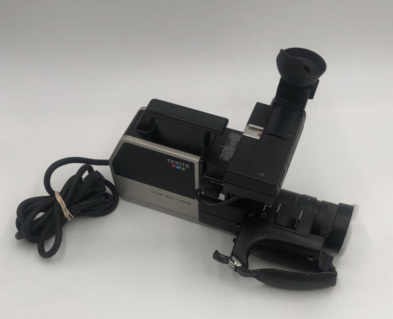 Zenith Beta Betamax Portable VC1600 Color Video Camera