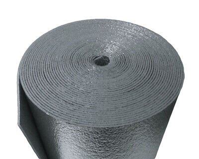 R-8 Hvac Duct Wrap Insulation Reflective 2 Sided Foam Core 4 X 50 200 Sq Ft