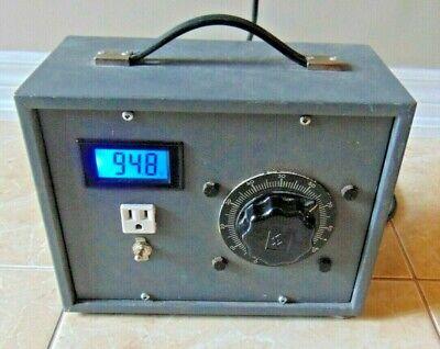 Superior Powerstat 116bu Variable Autotransformer 0-140v 10amp 1.4kva 120v