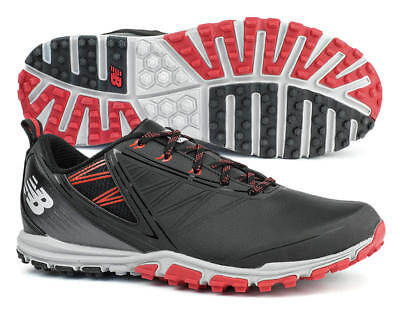 New Balance NBG1006BRD Minimus SL Black/Red Golf Shoes Spikeless Men's 2018 New