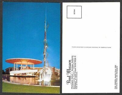 Old California Postcard - Saratoga - Paul Masson, Vineyard, Wines, Fountain