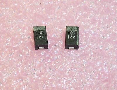 Qty 25 100uf 16v 10 D Case Ntc-t107k16trd Nic Smd Tantalum Capacitors