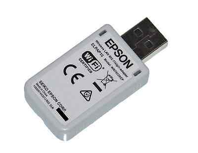 NEW EPSON Actual ELPAP10 V12H731P02 WN7522BEP WIRELESS WIFI LAN USB ADAPTER