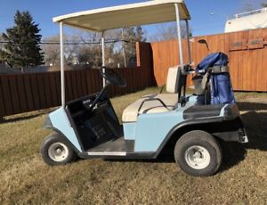 EZGO Gas Golf Cart