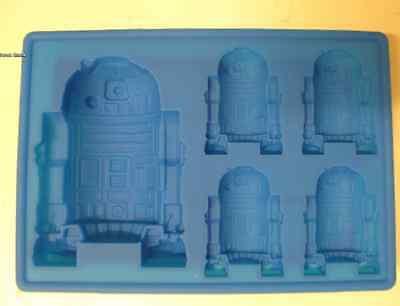 STAR WARS R2-D2 SILICONE BIRTHDAY MINI CAKE PAN CANDY MOLD ICE TRAY  for sale  Rancho Cucamonga