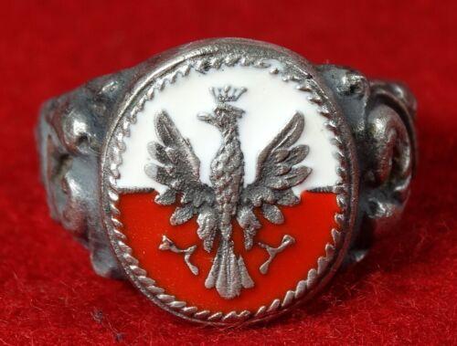 Polish Ring military Poland 1939 Polen Eagle Legions Pilsudski  ww1 WWI WW2 WWII