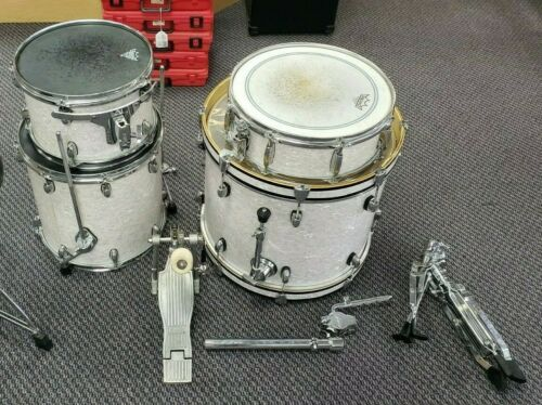 *Gretsch Drums Catalina Club Jazz 4-Piece Shell Pack White Marine Pearl Used