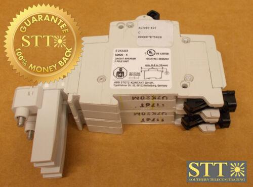 Pl702u-k20 Abb 20 Amp 2-pole Circuit Breaker 240v