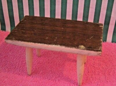 DOLLS HOUSE, TABLE, 16TH, LUNDBY, RECTANGLE, WOOD, VINTAGE