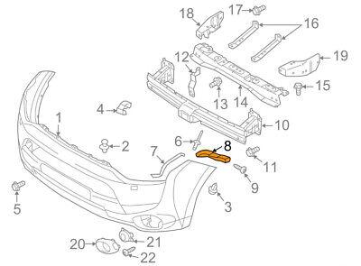 FRONT Bumper Cover Reinforcement Bracket Right Passenger OEM For 2011-15 Sorento