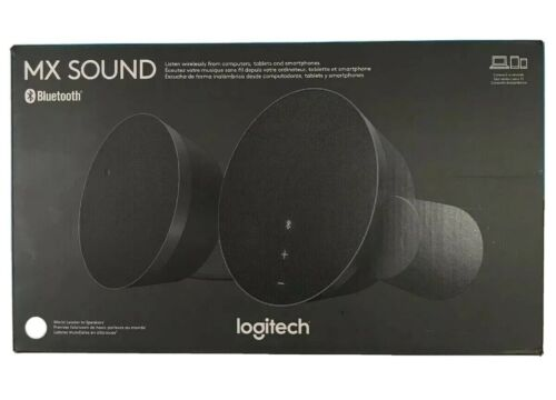 Logitech MX Sound 2.0 Multi Device Stereo Speakers with prem