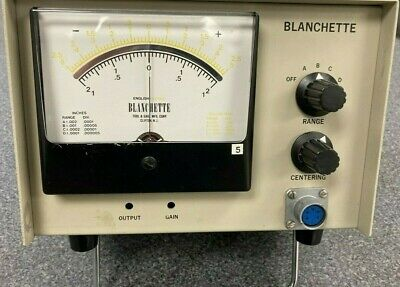 Blanchette Analog Gaging Amp For Internal Comparator